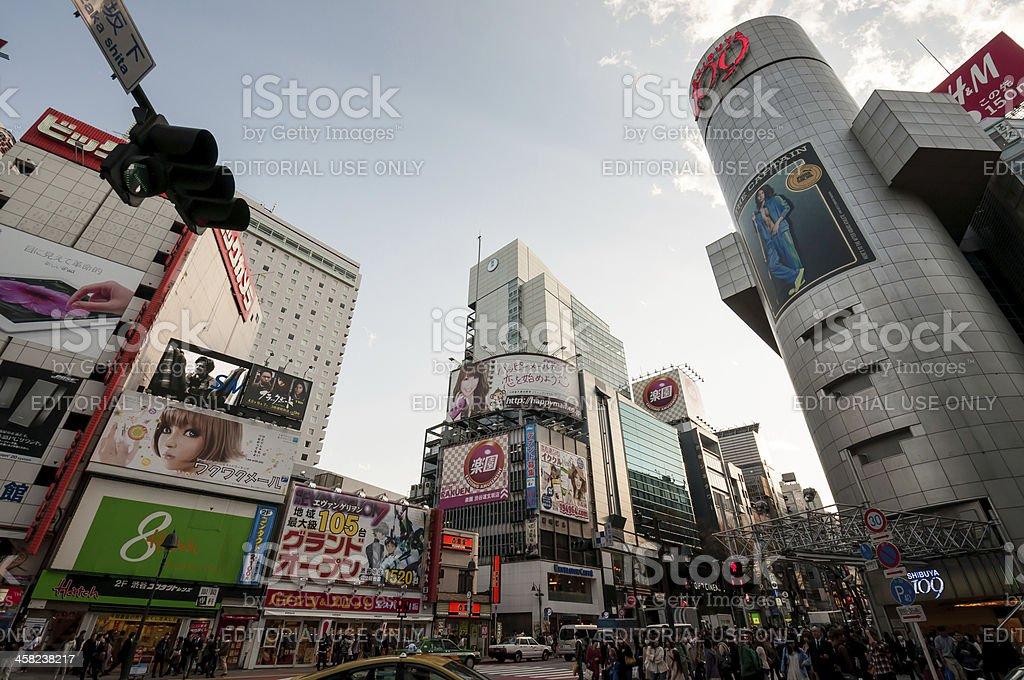 Shibuya, Tokyo, Japan royalty-free stock photo