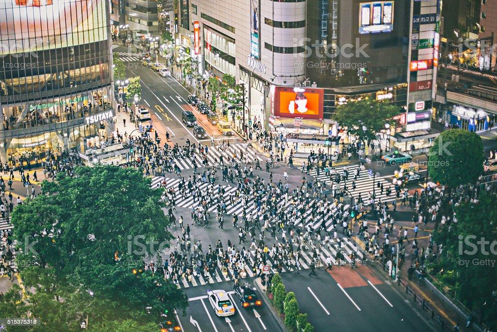 Shibuya ward stock photo