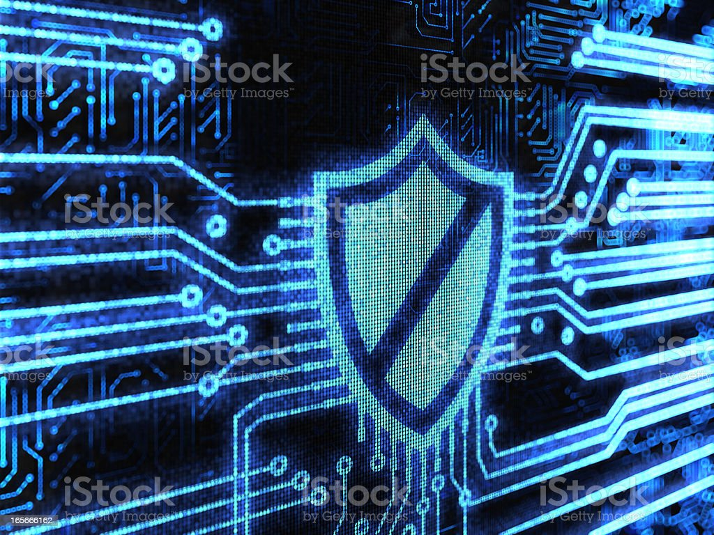 Shield Background royalty-free stock photo