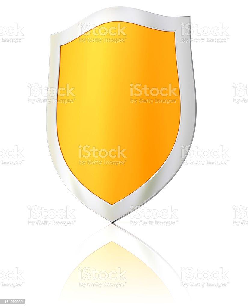 Shield royalty-free stock photo