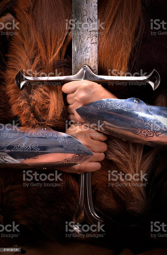 Shieldmaiden 3 stock photo