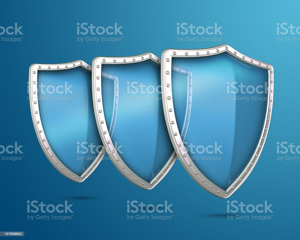 Shields stock photo
