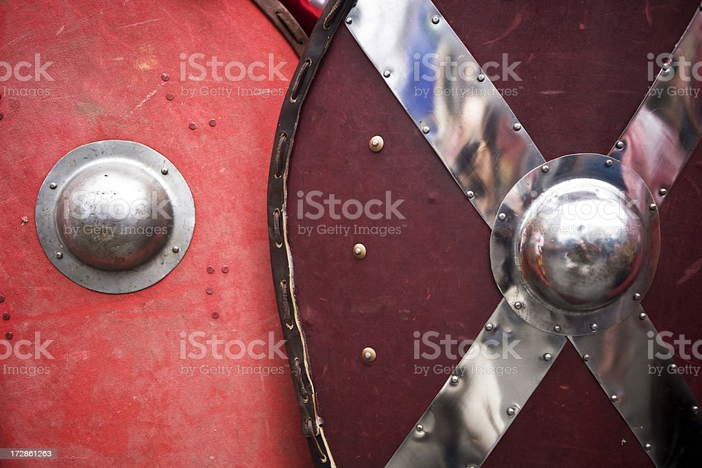 Shields royalty-free stock photo