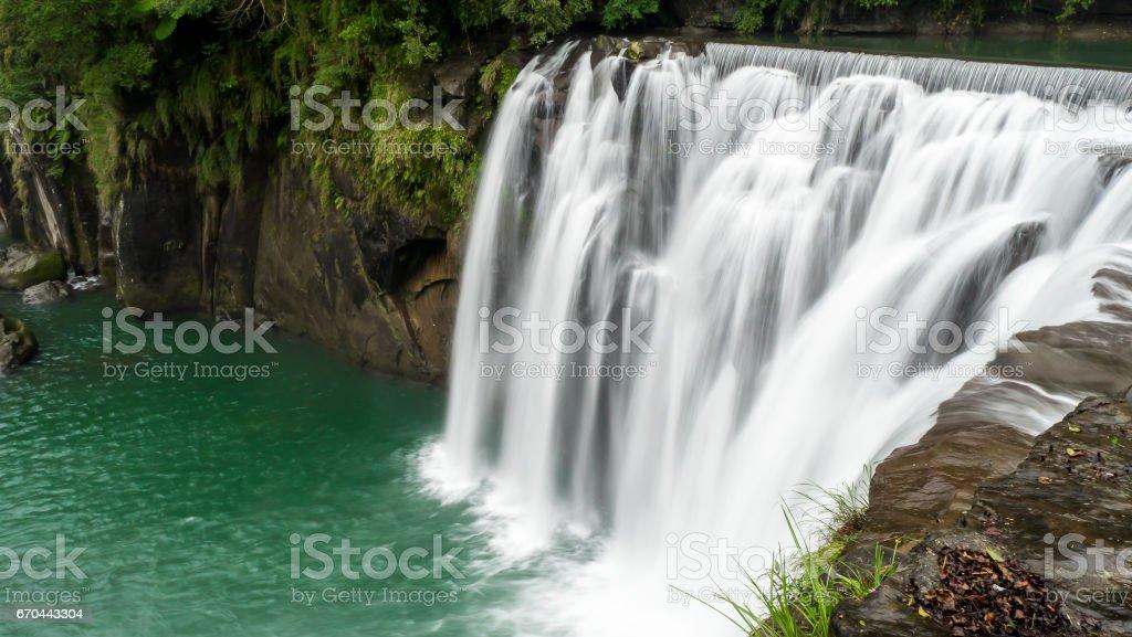 Shifen Waterfall in Taiwan 4 stock photo