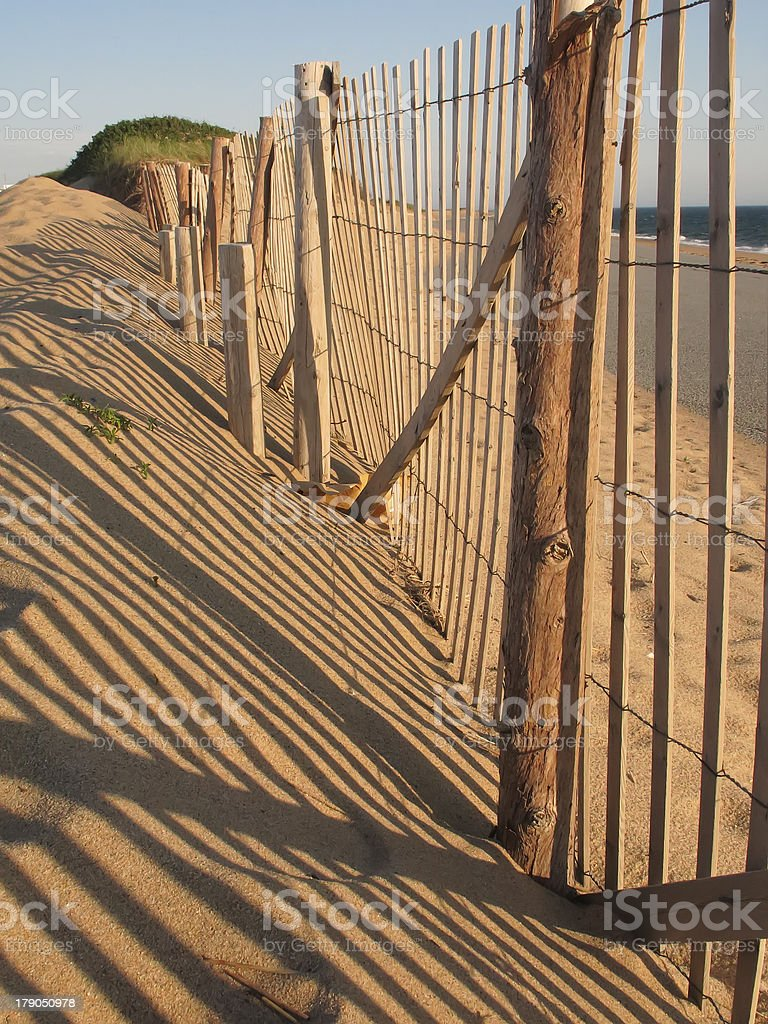 Shifting architecture of dunes royalty-free stock photo