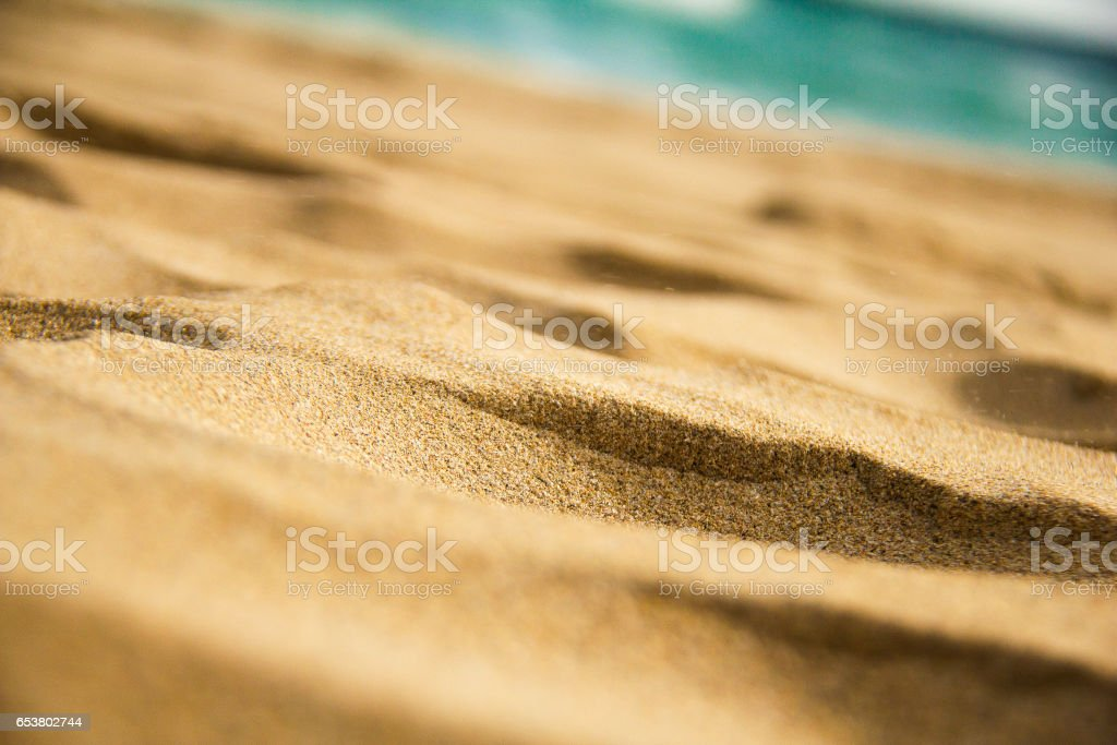 Shifting Sands stock photo