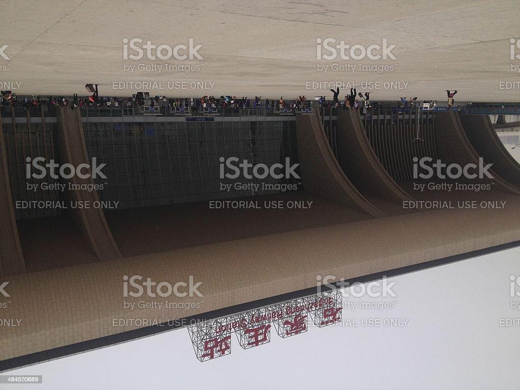 Shijiazhuang Railway Station stock photo