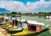 Shikara Boats / Lifestyle in Dal Lake, Srinagar, Kashmir, India