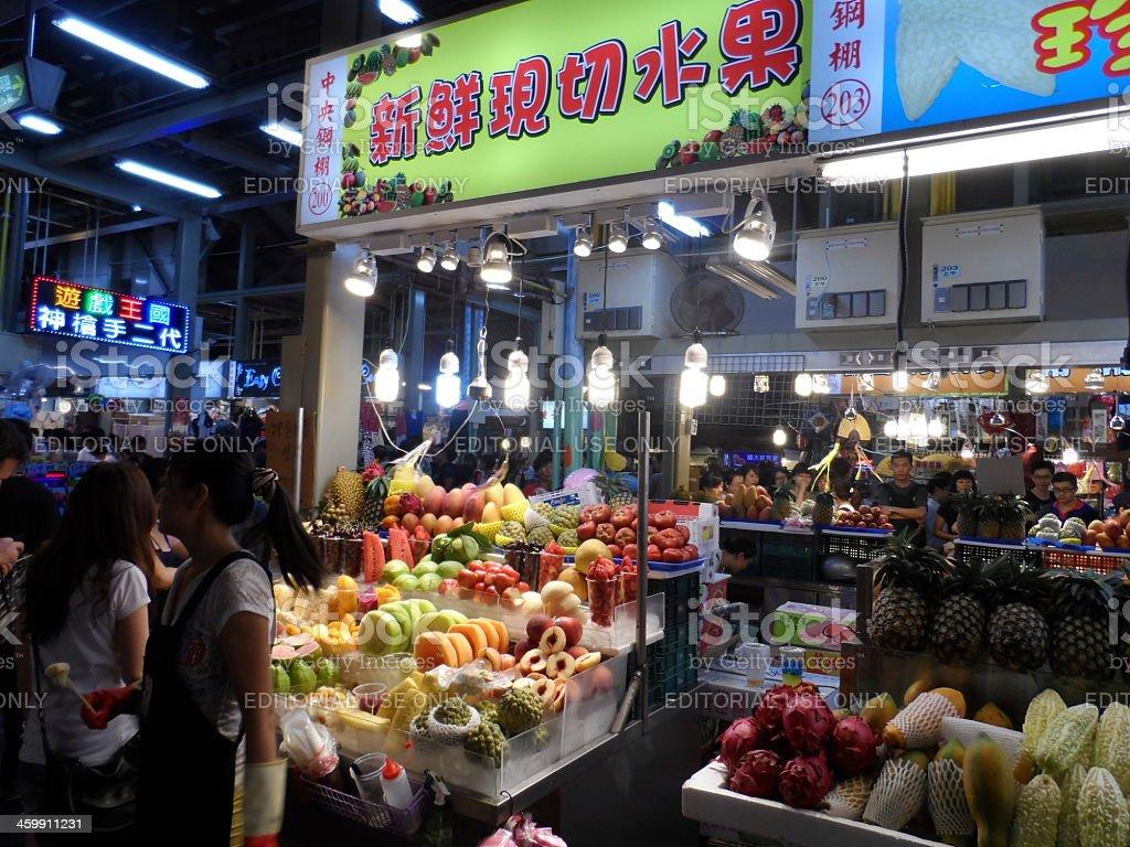 Shilin Market, Taipei, Taiwan royalty-free stock photo
