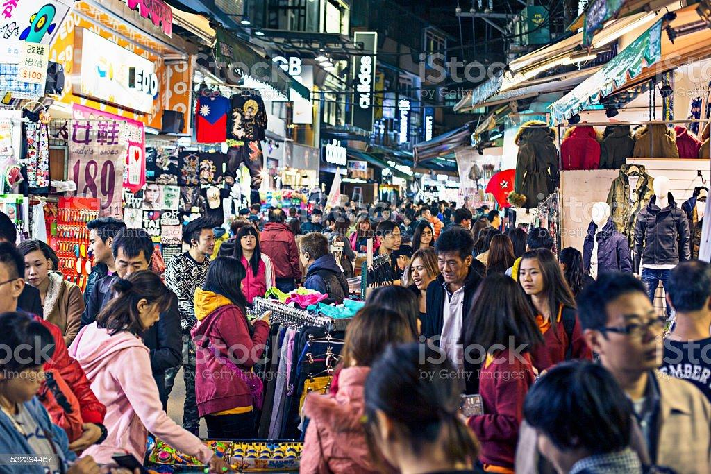 Shilin Night Market stock photo