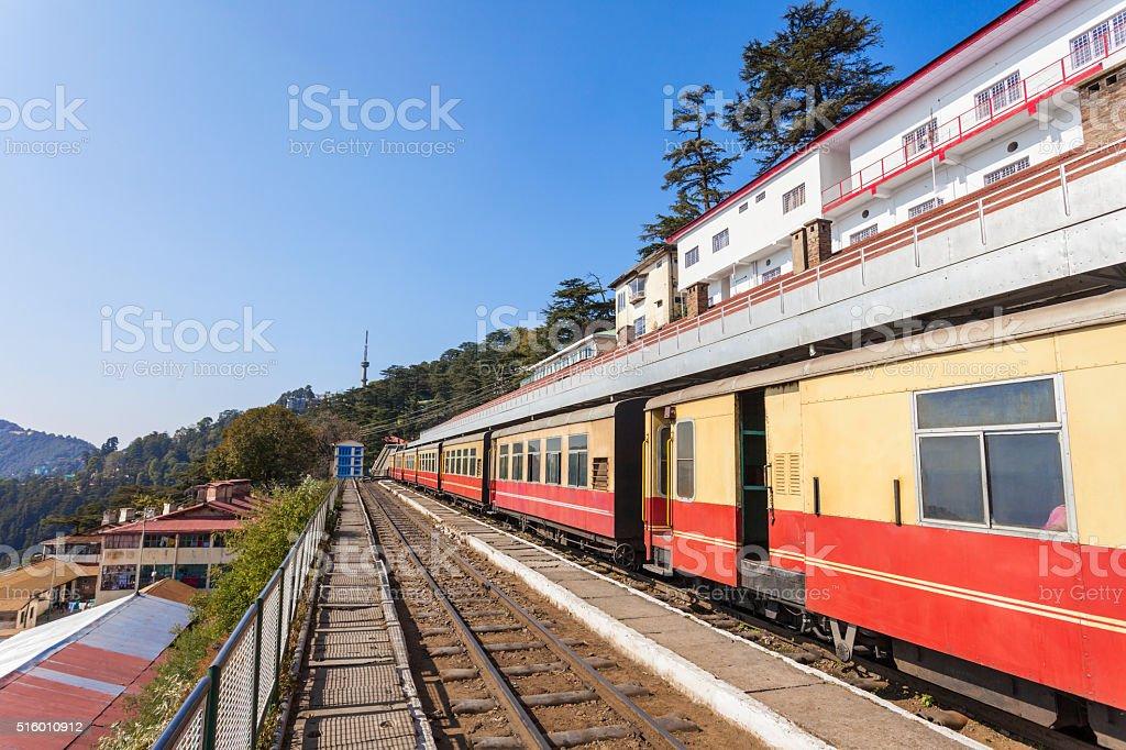 Shimla Railway station stock photo