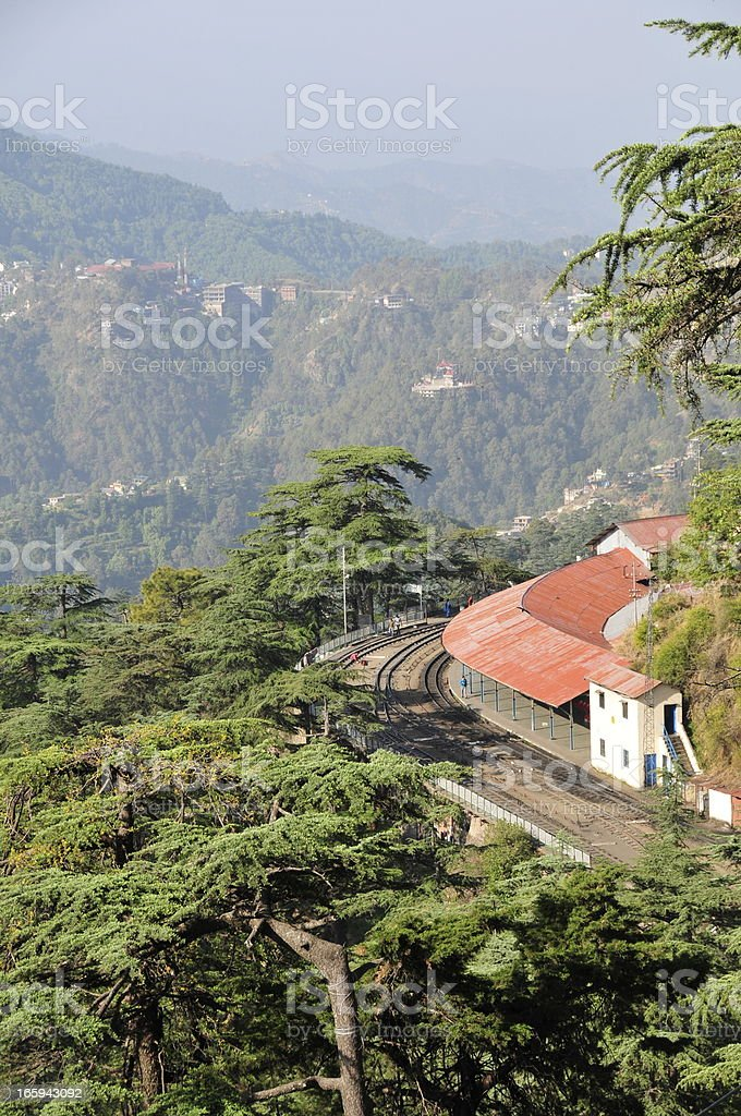 Shimla,Himacha Pradesh,India. royalty-free stock photo