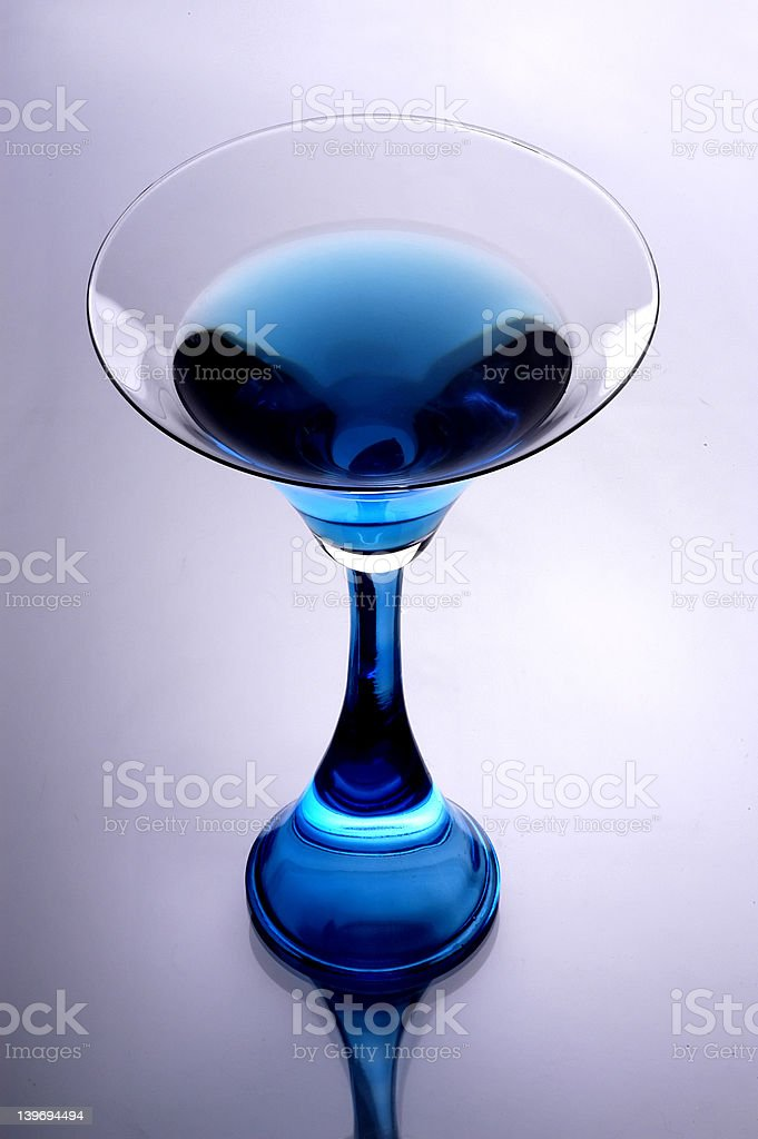 Shimmering Wine Glass royalty-free stock photo