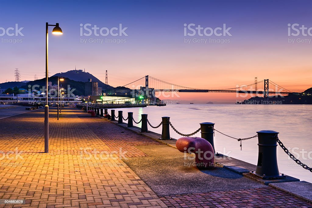 Shimonoseki Waterfront stock photo