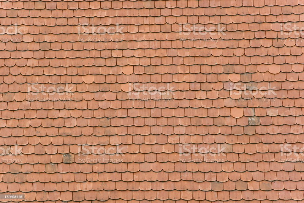 Shingle roof royalty-free stock photo