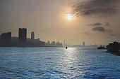 Shining city, Lei Yue Mun, Hong Kong