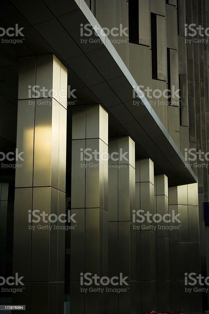 Shining Columns stock photo