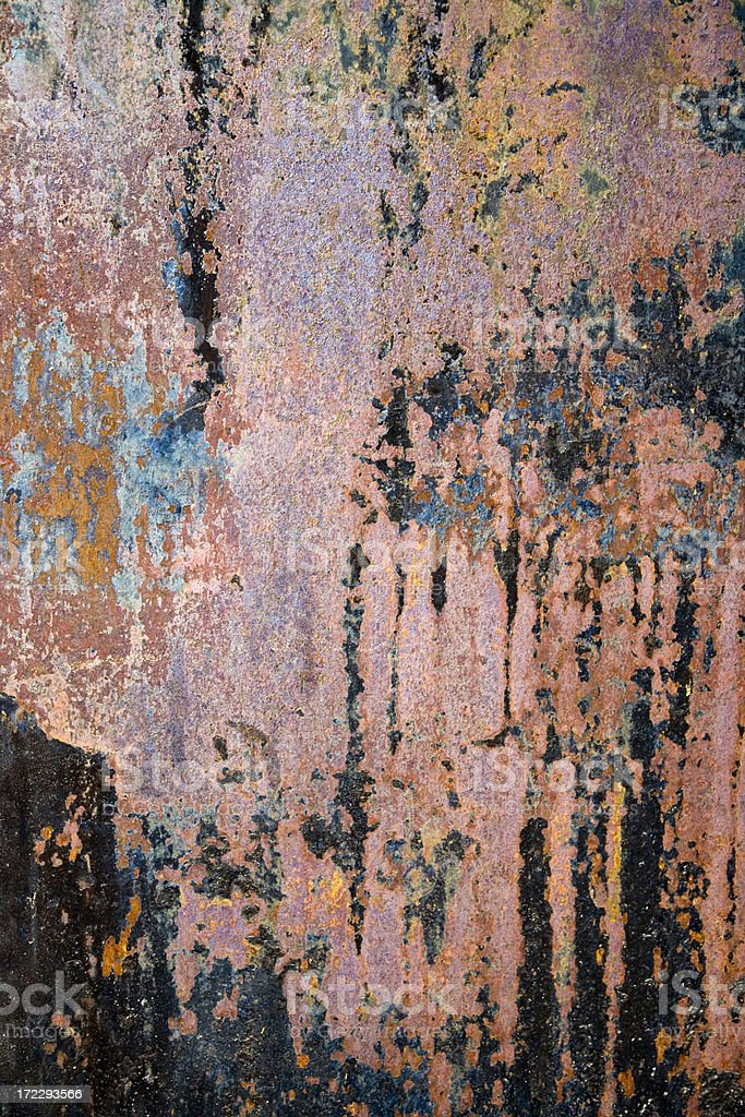shining rusty metal structure royalty-free stock photo