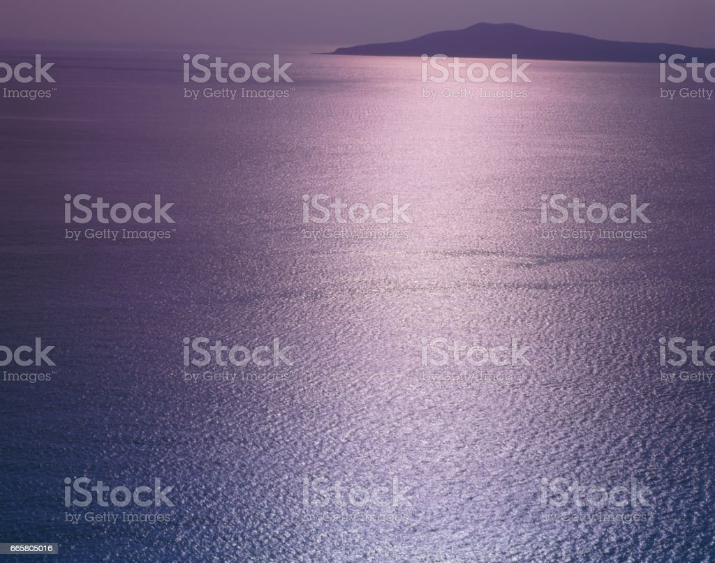Shining Sea stock photo