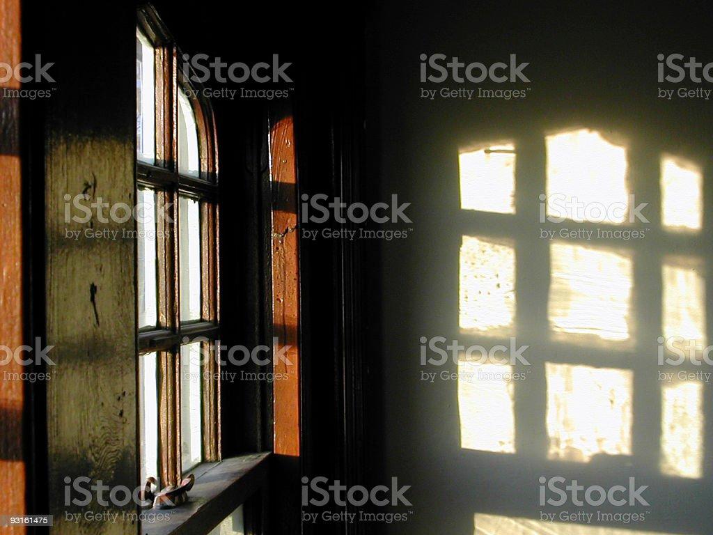shining through the window 01 royalty-free stock photo
