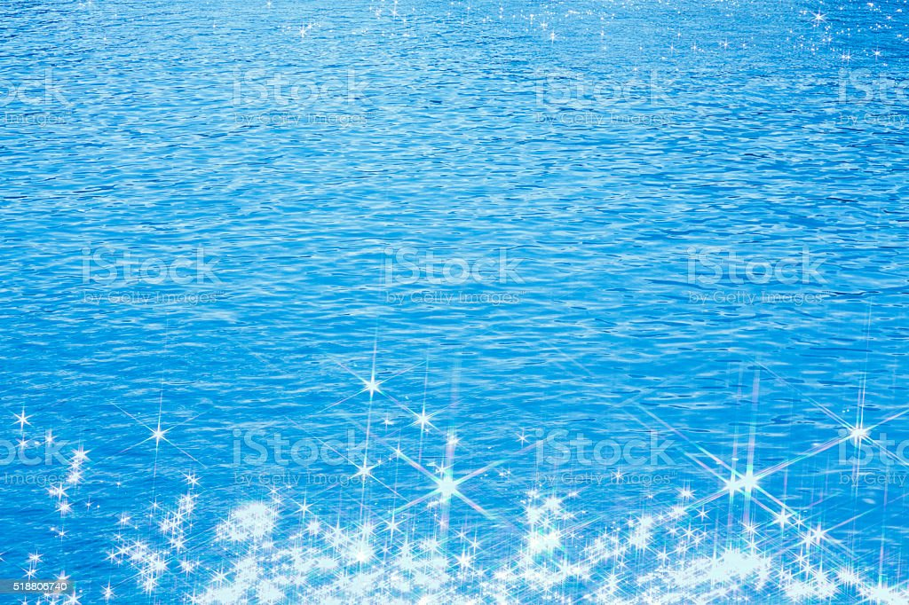 Shining Water stock photo