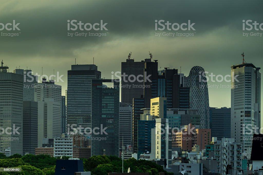 Shinjuku Skyline stock photo