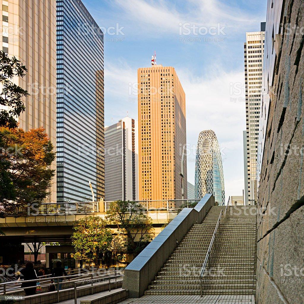 Shinjuku Tokyo Japan stock photo