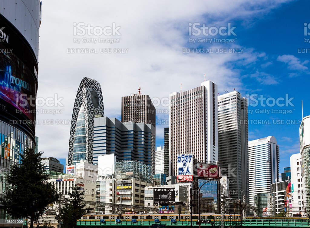 Shinjuku Tokyo Japan royalty-free stock photo