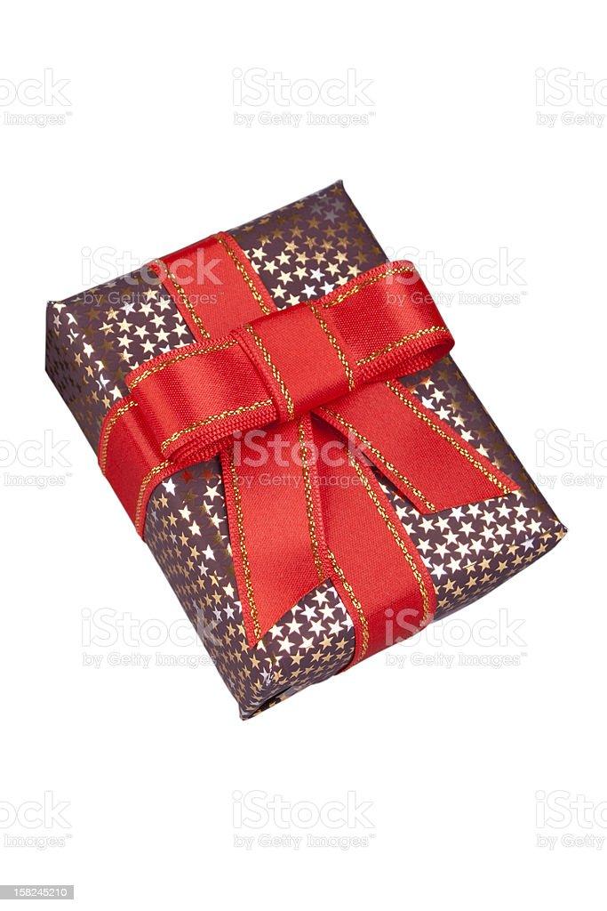 shinny present box royalty-free stock photo