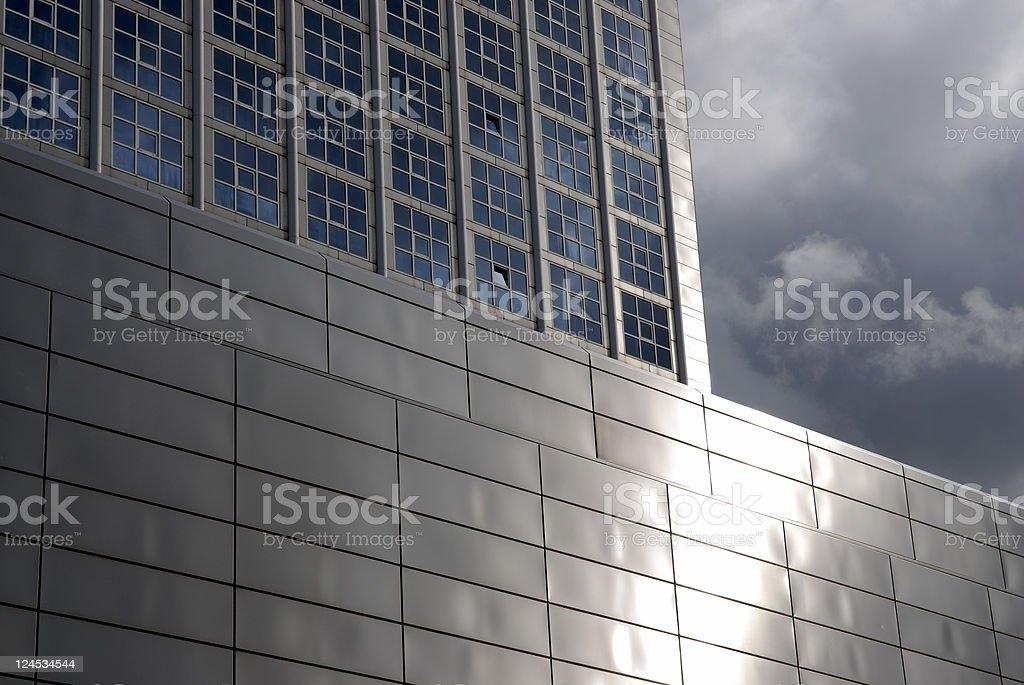 Shiny Architecture royalty-free stock photo