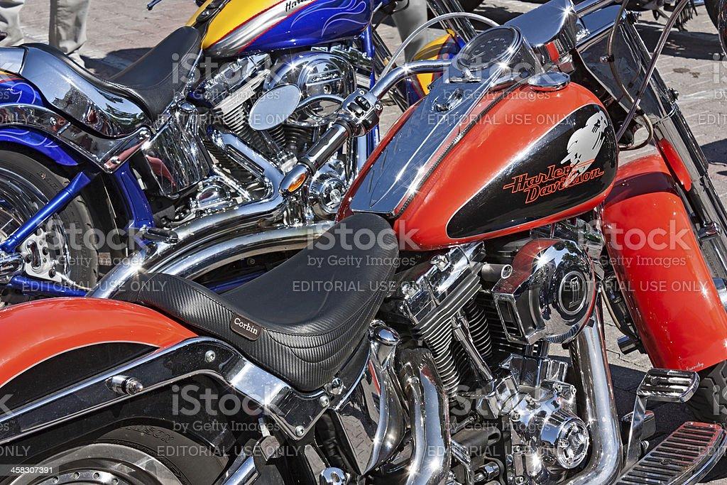 shiny bikes royalty-free stock photo