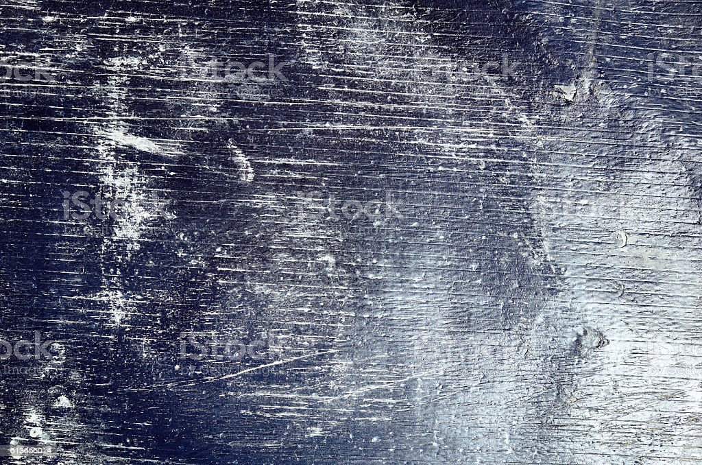 Shiny black sheet grunge old wall texture background stripes stock photo