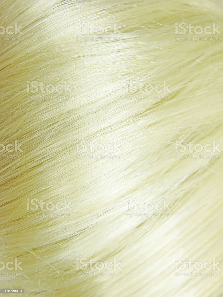 shiny blond hair texture background royalty-free stock photo