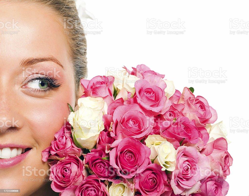 Shiny Bride royalty-free stock photo