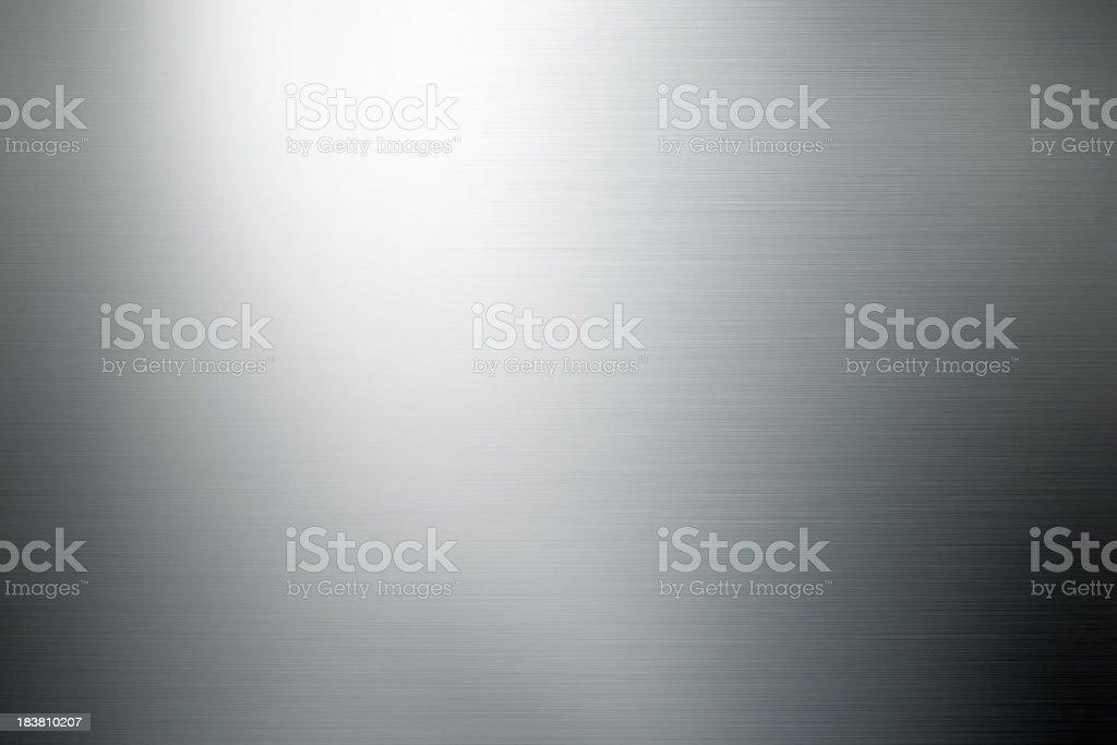 shiny brushed metal background stock photo