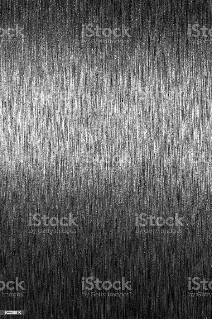 Shiny brushed metal surface royalty-free stock photo