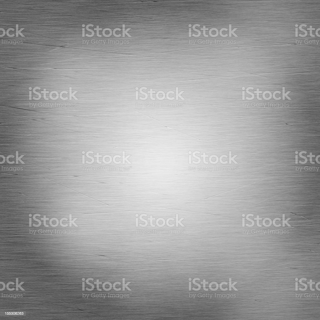 Shiny brushed steel with scratches royalty-free stock photo