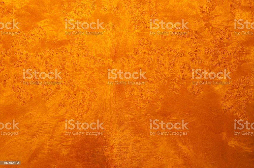Shiny burl wood texture grainy surface for backgrounds XL royalty-free stock photo