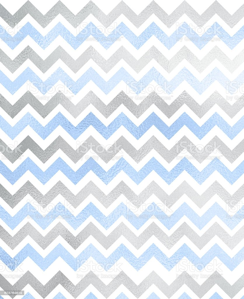 Shiny Chevron pattern stock photo