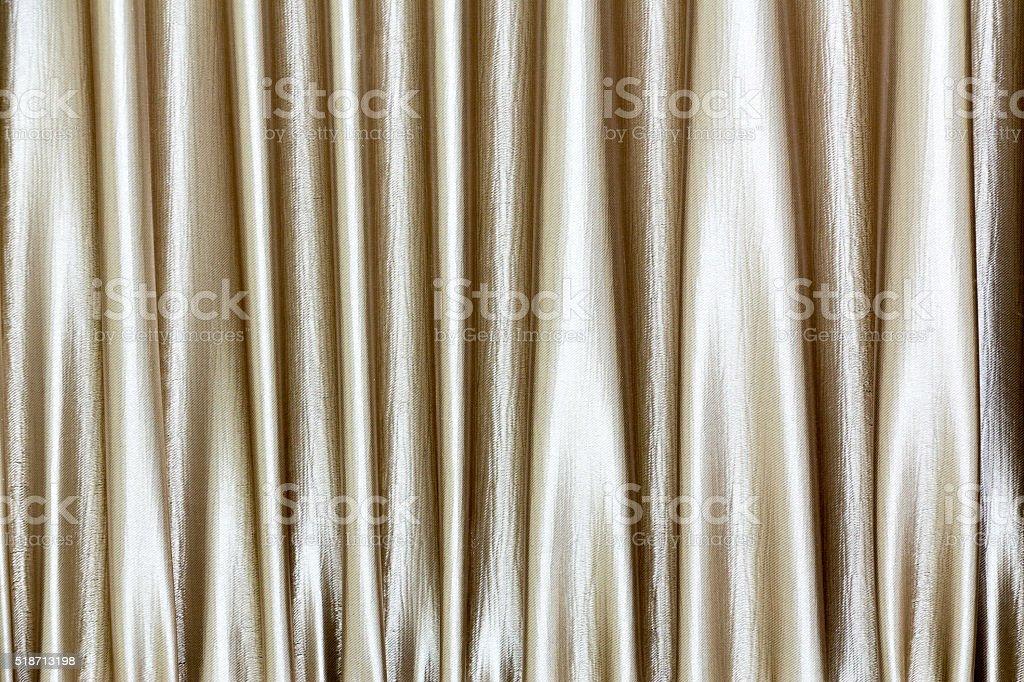 Shiny curtain as background stock photo