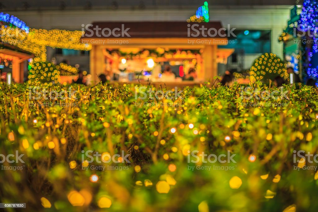 shiny Decorations object in christmas stock photo