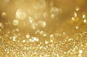 Shiny glitter bokeh background