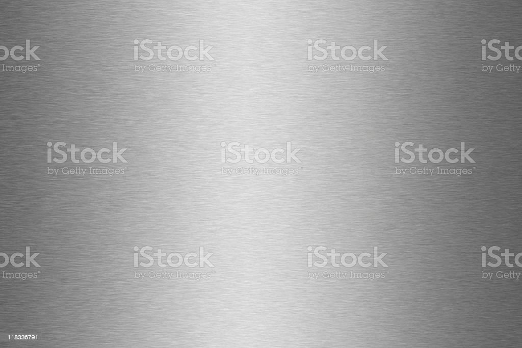 Shiny gray metal textured background surface stock photo