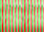 Shiny green and red striped Christmas background