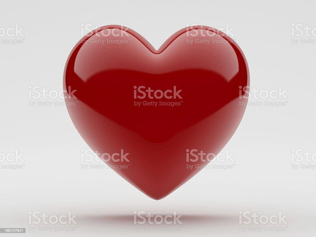 Shiny Heart stock photo