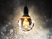 Shiny lightbulb