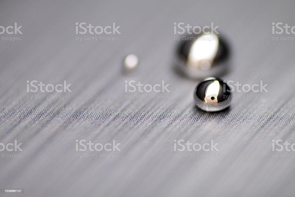 Shiny Mercury Textured stock photo