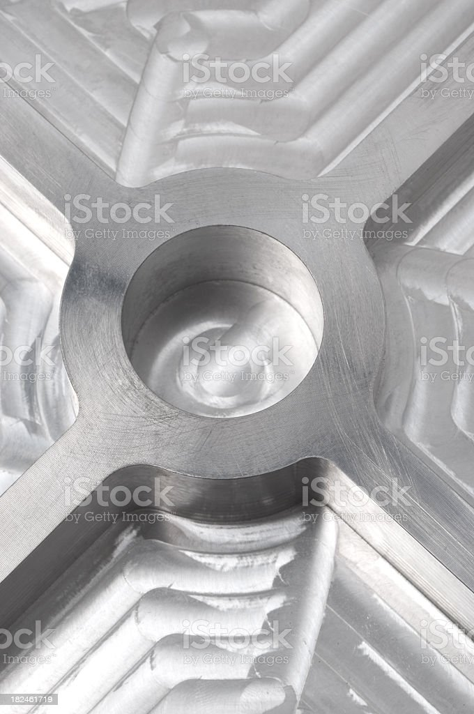 Shiny metal background royalty-free stock photo