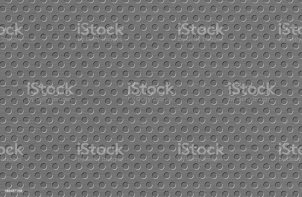 Shiny metal grid royalty-free stock photo