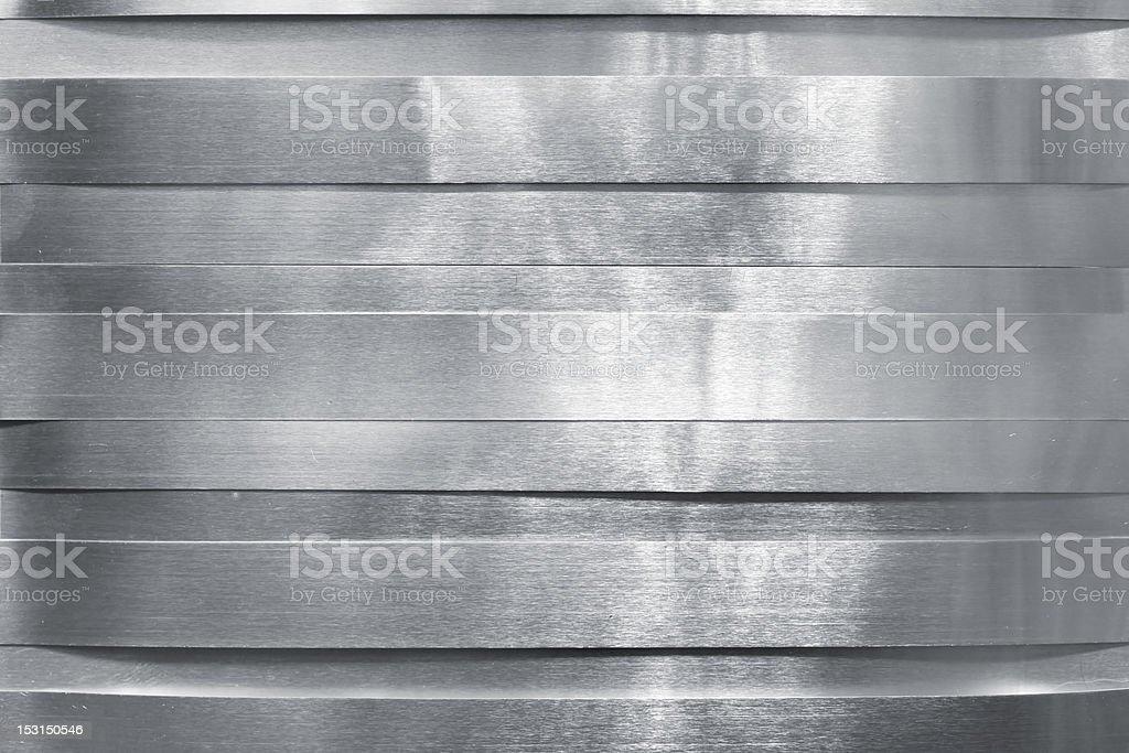 Shiny metal strips royalty-free stock photo